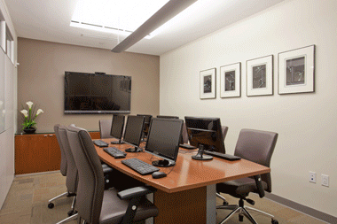specially equipped space for legal document review